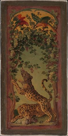 Alexandre François Desportes (French, 1661–1743). Panthers of Bacchus Eating Grapes, ca. 1719–20. The Metropolitan Museum of Art, New York. Gift of J. Pierpont Morgan, 1906 (07.225.287)