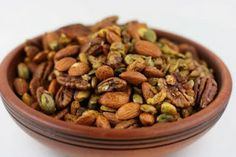 Crock Pot Roasted and Spiced Nuts