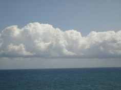 The sea at the backside of our appartment in Cefalu - Sicilia