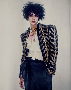 I'm With The Band: Damaris Goddrie for Porter Magazine Fall 2016 - Gucci jacket