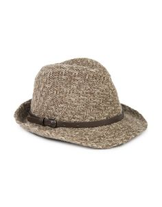 Woven Belted Trilby Woven Belt, Hats, Fashion, Moda, Hat, Fashion Styles, Fashion Illustrations, Hipster Hat