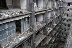 These days the only things that land on Hashima Island are the shits of passing seagulls. An hour or so's sail from the port of Nagasaki, the abandoned island silently crumbles. A former coal mining facility owned by Mitsubishi Motors, it was once the most densely populated place on earth, packing over 13,000 people into each square kilometre of its residential high-risers. It operated from 1887 until 1974, after which the coal industry fell into decline and the mines were shut for good.