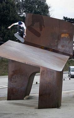 Jesse Tessier does a Fakie Flip in Barcelona, Spain. http://win.gs/1lPse9X Image: Brian Caissie #skate #skateboard #jessetessier
