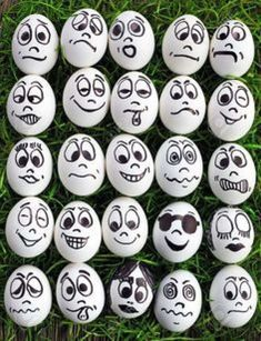 Eggs And Many Funny Faces Stock Photo, Picture And Royalty Free Image. Image Eggs And Many Funny Faces Stock Photo, Picture And Royalty Free Image. Cartoon Faces, Funny Faces, Art Sur Toile, Apple Decorations, Rock Painting Designs, Rock Crafts, Egg Decorating, Pebble Art, Stone Art