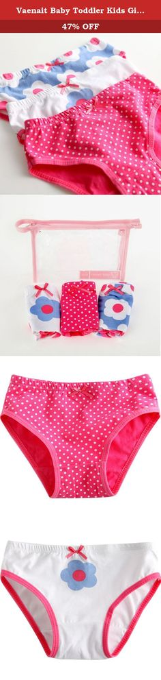 Vaenait Baby Toddler Kids Girls Briefs 3-Pack Underwear Set Daisy XL (8-9Y). Made with 100% natural cotton and designed stylish and fit softly and snugly for your boys. Wide eleastic waist band is confortable, non-slip and painless. Each sets is enveloped in reusable zipper-locking plastic bag, Good for Gift. Get SHIPPING DISCOUNT When you order over 2pcs in one order.