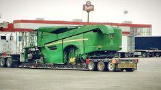 John Deere biggest combine