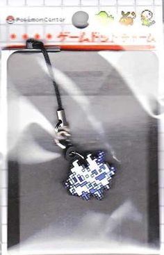 Pokemon Center 2012 Game Dot Charm Vanilluxe Phone Strap