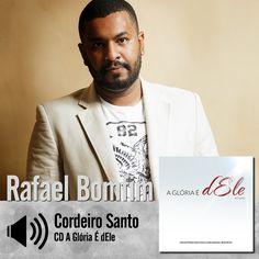 """Ouça a canção """"Cordeiro Santo"""" do CD A Glória é d'Ele de Som da Cura - Rafael Bomfim: http://bit.ly/1DPzZnR"""