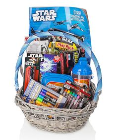 Another great find on #zulily! Star Wars Gift Basket #zulilyfinds