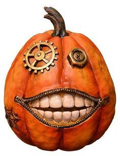 FANTASTIC CRAFT 'Steam Pumpkin' Figurine #steampunk #pumpkin #halloween