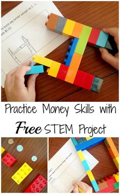 How to Use LEGO to Practice Money Skills (STEM Project)