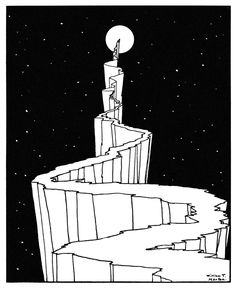 "Guillain Méjane on Twitter: ""«The path to the moon» - William T. Horton (1898) https://t.co/xpMrb4GyxY"""