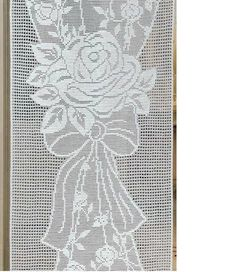 It is a website for handmade creations,with free patterns for croshet and knitting , in many techniques & designs. Crochet Curtains, Crochet Quilt, Love Crochet, Crochet Motif, Crochet Doilies, Crochet Patterns, Crochet Stitches Free, Filet Crochet Charts, Crochet Crafts