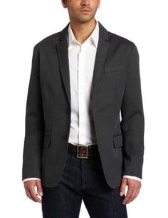 Kenneth Cole Men's Dobby Twill Blazer