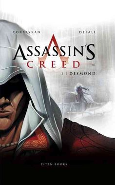 This first volume of the French comic trilogy from Ubisoft, tells the story of Desmond Miles' abduction by Abstergo and their plans to rip the blood-steeped memories of Desmond's ancestors from his ge