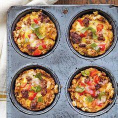 Savory Egg Muffins | Cookinglight.com