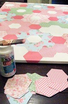 EcoNotas.com: Cuadros Decorativos con Papel y Tela Reciclados