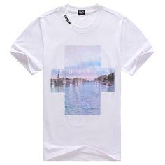 polo ralph lauren outlet uk Dolce & Gabbana Zurich Print Short Sleeve Men's T-Shirt White http://www.poloshirtoutlet.us/