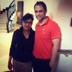 """Ms. Sangeeta Sharma: (swelling in neck and stiff upper back): """"I was a bit sceptical when I started out here (AktivOrtho™) but very soon this scepticism was replaced by satisfaction. The therapists work towards making you not dependent. Precision! That's what I have experienced at AktivOrtho™. To treat well, a doctor must need to diagnose accurately and that's what Dr. Gerd Mueller (MD) did. He had diagnosed with precision and his team took it through with the same precision""""."""