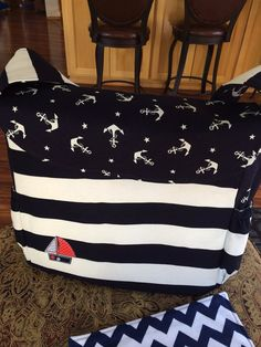 Hey, I found this really awesome Etsy listing at https://www.etsy.com/listing/180139140/nautical-navy-blue-and-red-diaper-bag