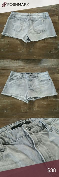 Joe's Jeans Denim Easy Cut Off Gray Shorts 30 EUC. Only worn a few times. Style name is easy cut off. Joe's Jeans Shorts Jean Shorts