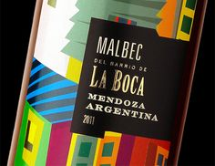 Argentina tiene algunos de los mejores vinos del mundo, y La Boca podría ser uno de los barrios más coloridas del mundo. La combinación de los dos le dará el vino de La Boca. Diseñado por el diseñador y la marca gráfica argentina experta Guillo Milia.-- Argentina has some of the best wines in the world, and La Boca could be one of the most colourful neighborhoods in the world. Combining the two will give you the La Boca wine. Designed by Argentinean graphic designer and branding expert…