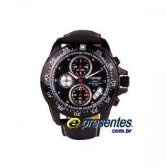 922024253d5 FC016-B Relógio de Pulso FERRARI RUNNER Cronógrafo Analógico Masculino  Couro. E-Presentes · Vitrine Ferrari ORIGINAL