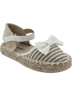 Old Navy | Canvas Bow-Tie Espadrilles for Baby