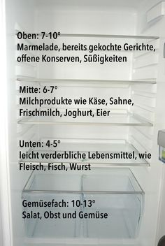 Den Kühlschrank richtig einräumen Give the fridge right – that's the way it works! Cleaning Companies, Household Cleaning Tips, Cleaning Day, Green Cleaning, House Cleaning Tips, Cleaning Hacks, Home Hacks, Diy Hacks, Genius Ideas