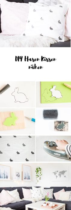 Do it yourself Textilmuster mit Stempeln selbst gestalten