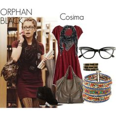"""Orphan Black- Cosima"" by nchavez113 on Polyvore"