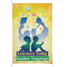 Welcome Back: Learners Today, Leaders Tomorrow Banner * SAVE 10% with promo code B2SC