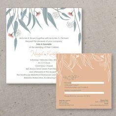 Bels Wedding Business Card Australian Invite Advise Link Creative Paper Freshly