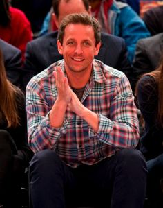 Seth Meyers and Jason Sudeikis double date at Knicks game Gorgeous Men, Beautiful People, Beautiful Boys, Jason Sudeikis, Seth Meyers, Boy Pictures, Saturday Night Live, Snl, Celebs