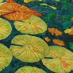 Contemporary ways to use traditional applique techniques - Deborah Wirsu Textile Artist