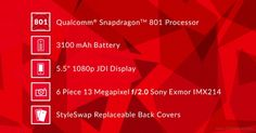 OnePlus One: processore Snapdragon 801 e display da 5,5 pollici Full HD