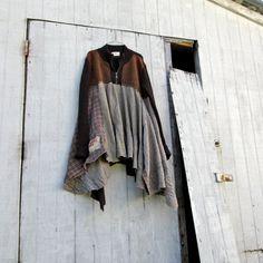boho lagenlook romantic sweater dress / Upcycled by CreoleSha, $95.00