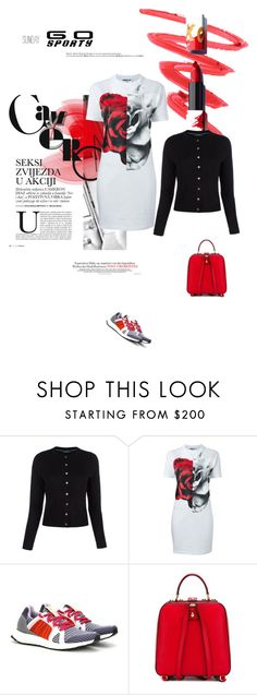 """Sunday - Go Sporty"" by maitepascual ❤ liked on Polyvore featuring Paul Smith, McQ by Alexander McQueen, adidas, Dolce&Gabbana, Hedi Slimane, sunday and gosporty"