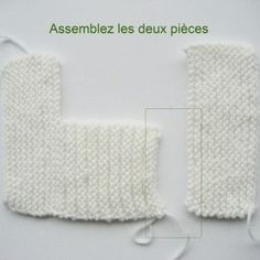 Tricoter les chaussons de bébé? Ici, un modèle... - Monde tricot Baby Booties Knitting Pattern, Knitted Booties, Baby Knitting, Knitted Hats, Knitting Patterns, Crochet Motif, Knit Crochet, Crochet Hats, Tricot Baby