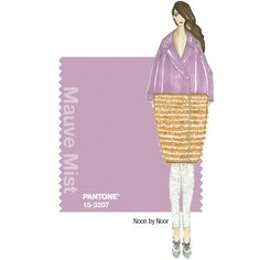 PANTONE Fashion Color Report Fall 2014 –Mauve Mist – Noon by Noor - A great addition to the typical fall colour palette. Fashion Colours, Colorful Fashion, Fall Winter 2014, Autumn Winter Fashion, Noon By Noor, 2014 Fashion Trends, Fall Color Palette, Fashion Forecasting, Pantone Color