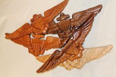 Navy Marine Corps Coast Guard Pilot wings by TAWoodandVinyl