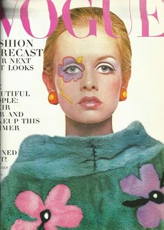 Twiggy on the July 1967 cover of Vogue