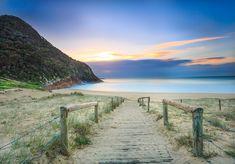 sydney road trip - Dawn at Zenith Beach, Port Stephens Beautiful Islands, Beautiful Places, Beautiful Pictures, Holiday Destinations, Travel Destinations, Brisbane, Sydney, Travel Bugs, Tasmania
