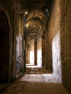 Under the Arena - Verona, Italy