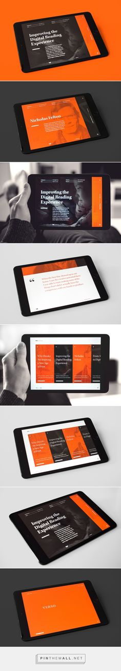 Verso – Digital Magazine on Behance - created via https://pinthemall.net