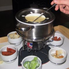 The Harris version of cheese fondue.
