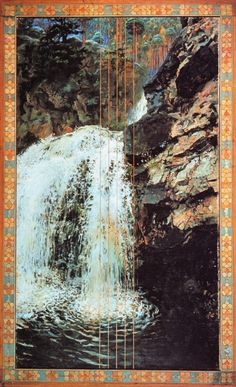 Mäntykoski Waterfall  Akseli Gallen-Kallela Finnish Painter  1865 AD - 1931 AD