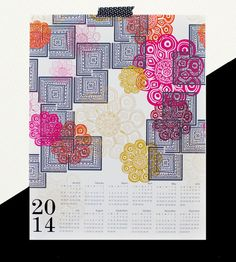 Modern Morocco 2014 Canvas Wall Calendar | Art Prints | Khristian A. Howell | Scoutmob Shoppe | Product Detail