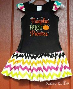 Just what your pumpkin patch princess needs! https://www.etsy.com/shop/RazzyRuffles