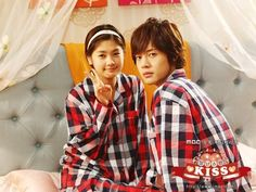 Kim Hyun Joong and Jung So Min, male and female leads, from the Wed/Thu MBC drama Playful Kiss which ended its run on will be working together again. The two will be filming for the spin-off … Playful Kiss, Mbc Drama, Drama Fever, Live Action, Kdrama, Baek Seung Jo, Kai Exo, Itazura Na Kiss, Kiss Me Love